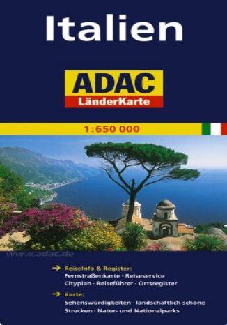 Okładka książki/ebooka Włochy. Mapa