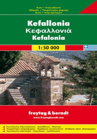 Okładka książki Kefalonia. Mapa samochodowa
