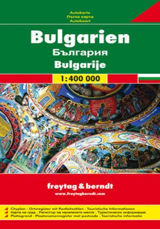 Okładka książki Bułgaria. Mapa samochodowa