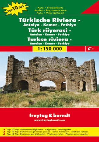 Okładka książki Turcja - Riwiera. Antalya-Kemer-Fethiye. Mapa samochodowa