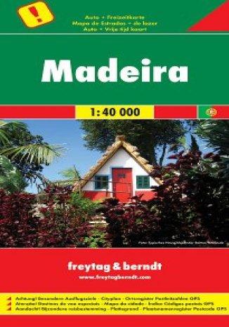 Okładka książki/ebooka Madera. Mapa samochodowa