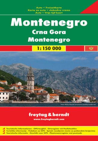 Okładka książki/ebooka Czarnogóra. Mapa samochodowa