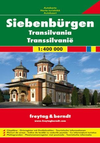 Okładka książki Transylwania. Mapa samochodowa