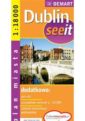 Okładka książki/ebooka Dublin. Plan miasta (See it)