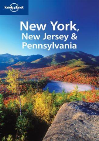 Okładka książki Nowy York, New Jersey, Pensylwania. Przewodnik Lonely Planet