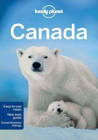 Okładka książki Kanada (Canada). Przewodnik Lonely Planet