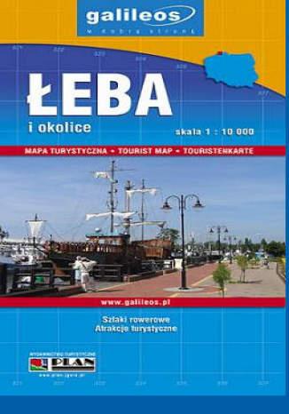 Okładka książki Łeba i okolice. Mapa turystyczna [Galileos]