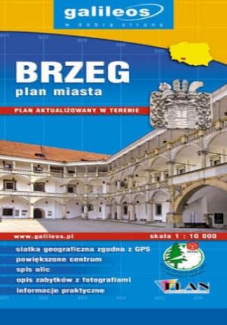 Okładka książki/ebooka Brzeg. Plan miasta [Galileos]