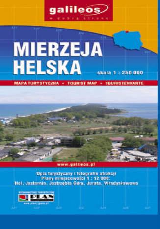 Okładka książki/ebooka Mierzeja Helska. Mapa turystyczna [Galileos]