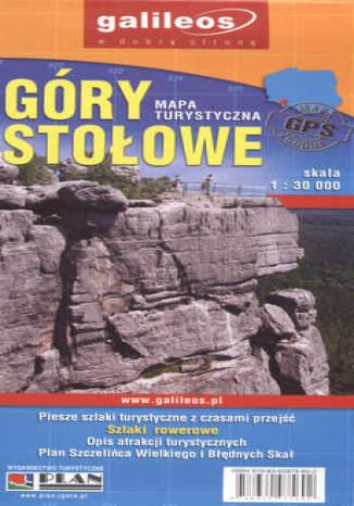Okładka książki/ebooka Góry Stołowe. Mapa turystyczna [Galileos]