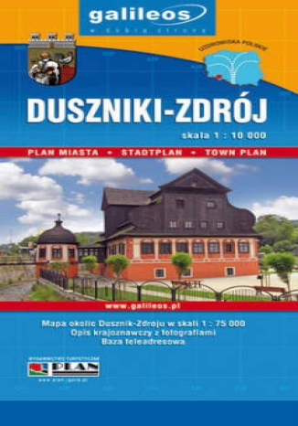 Okładka książki Duszniki-Zdrój. Plan miasta [Galileos]