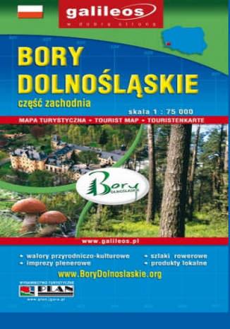 Okładka książki/ebooka Bory Dolnośląskie. Część zachodnia. Mapa [Galileos]