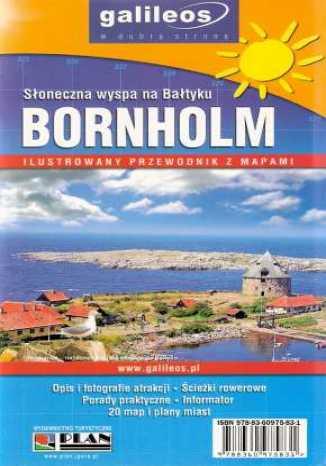 Okładka książki/ebooka Bornholm. Słoneczna wyspa na Bałtyku. Przewodnik z mapami [Galileos]