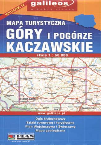 Okładka książki/ebooka Góry i Pogórze Kaczawskie. Mapa turystyczna [Galileos]