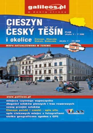 Okładka książki/ebooka Cieszyn. Cesky Tesin i okolice. Mapa [Galileos]
