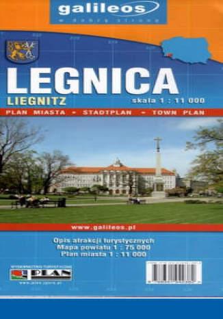 Okładka książki/ebooka Legnica. Plan miasta [Galileos]