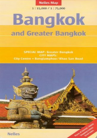 Okładka książki/ebooka Bangkog. Mapa