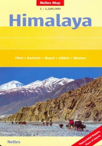 Okładka książki/ebooka Himalaje. Mapa