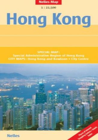 Okładka książki Hongkong. Mapa