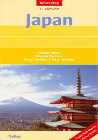 Okładka książki Japonia. Mapa