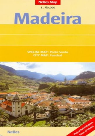 Okładka książki/ebooka Madera. Mapa