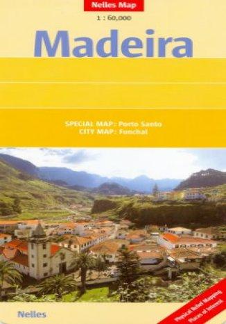 Okładka książki Madera. Mapa