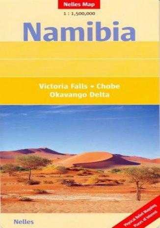 Okładka książki Namibia. Mapa