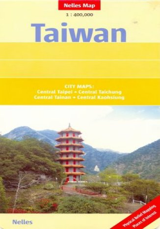 Okładka książki/ebooka Tajwan. Mapa