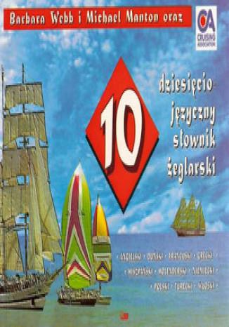 Okładka książki 10 języczny słownik żeglarski