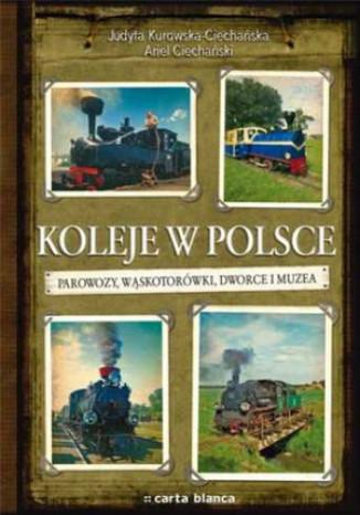 Okładka książki Koleje w Polsce. Parowozy, wąskotorówki i muzea