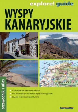 Okładka książki/ebooka Wyspy Kanaryjskie 2w1 przewodnik ExpressMap