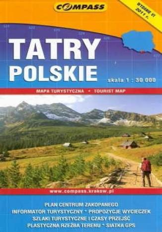 Okładka książki Tatry Polskie. Mapa 1:30 000