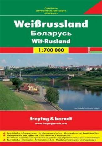 Okładka książki Białoruś. Mapa samochodowa