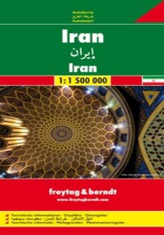 Okładka książki Iran. Mapa Freytag & Berndt 1:1 500 000