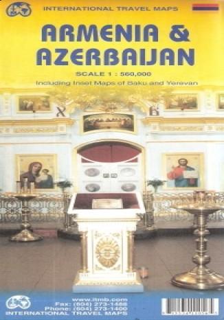 Okładka książki Armenia i Azerbejdżan. Mapa ITMB 1:560 000