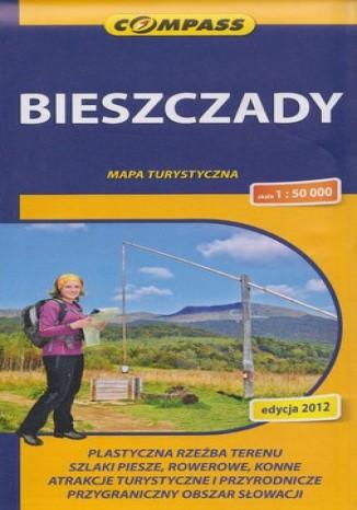 Okładka książki/ebooka Bieszczady. Mapa Compass 1:50 000