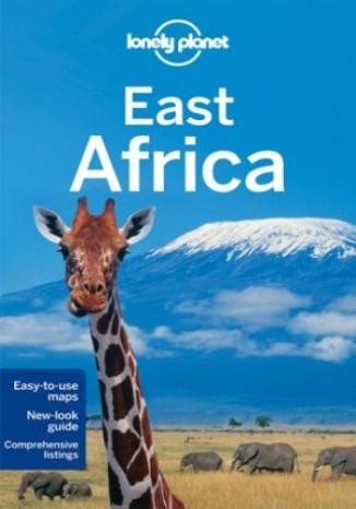 Okładka książki East Africa (Afryka Wschodnia). Przewodnik Lonely Planet