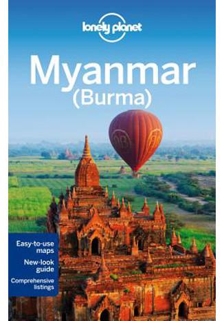 Okładka książki Myanmar (Burma). Przewodnik Lonely Planet