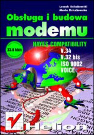 Okładka książki Obsługa i budowa modemu