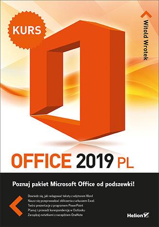 Okładka książki Office 2019 PL. Kurs