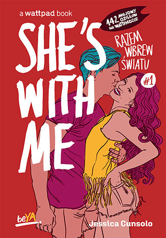 Okładka książki She's With Me. Razem wbrew światu #1