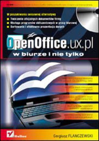 Okładka książki/ebooka OpenOffice.ux.pl w biurze i nie tylko