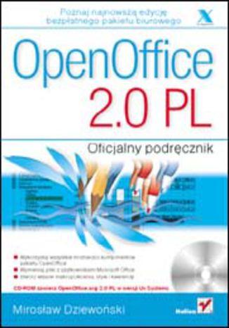 Okładka książki OpenOffice 2.0 PL. Oficjalny podręcznik