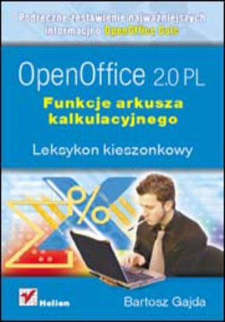 Okładka książki/ebooka OpenOffice 2.0 PL. Funkcje arkusza kalkulacyjnego. Leksykon kieszonkowy