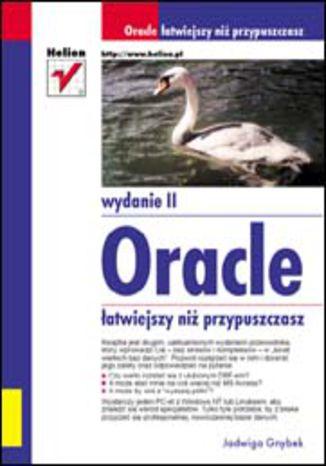Okładka książki Oracle - łatwiejszy niż przypuszczasz. Wydanie II