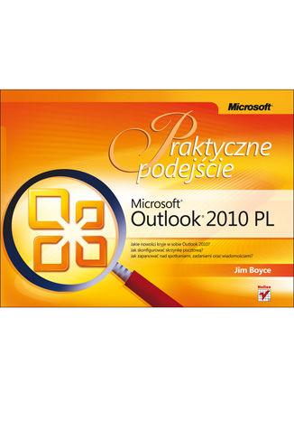 Okładka książki Microsoft Outlook 2010 PL. Praktyczne podejście