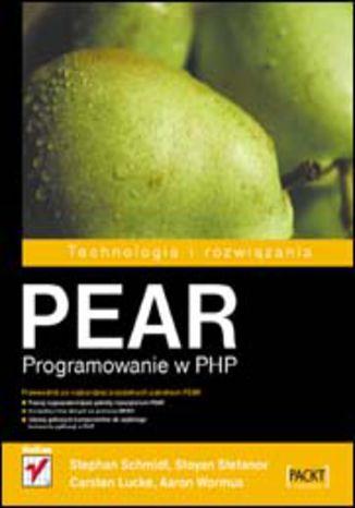 Okładka książki/ebooka PEAR. Programowanie w PHP