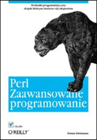 Okładka książki Perl. Zaawansowane programowanie
