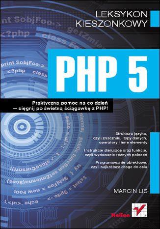 Okładka książki/ebooka PHP 5. Leksykon kieszonkowy