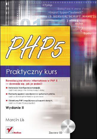 Okładka książki/ebooka PHP 5. Praktyczny kurs. Wydanie II